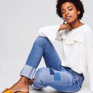 Loft Patchwork Jeans